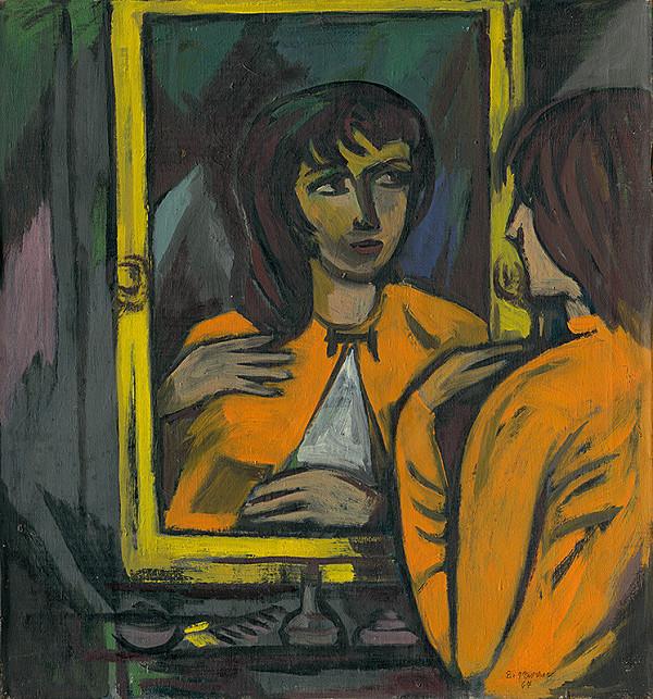 Eugen Nevan - Žena pred zrkadlom