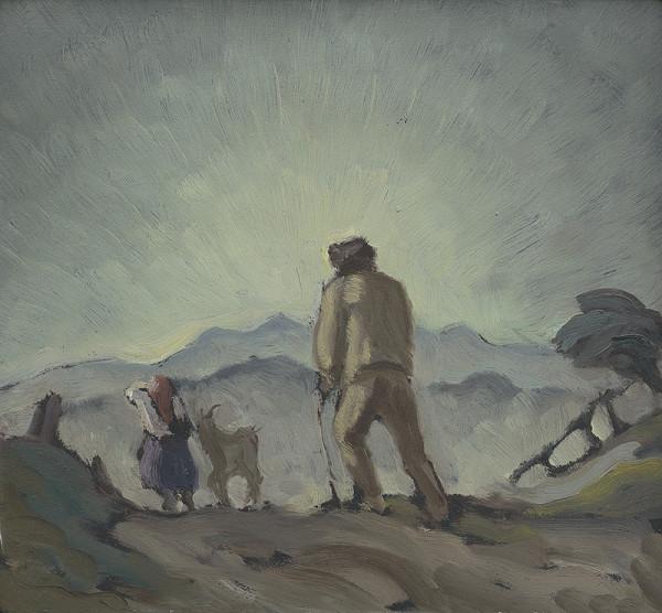 Ľudovít Križan - Figurálny motív