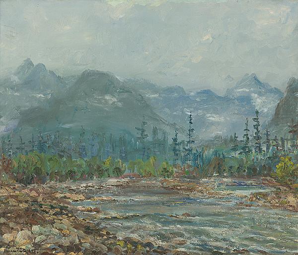 Július Nemčík - Potok v Bielovodskej doline
