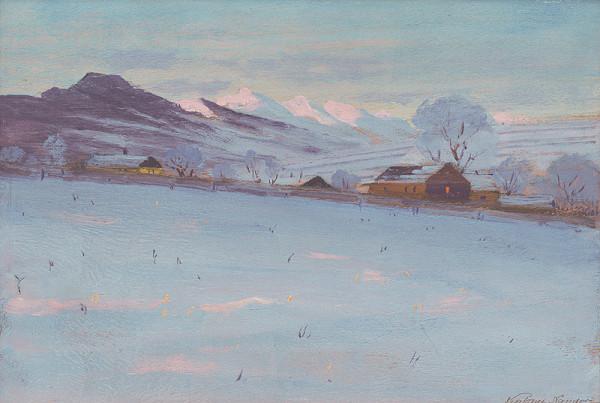 Ferdinand Katona - Krajina v zime