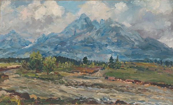 Július Nemčík - Horský potok