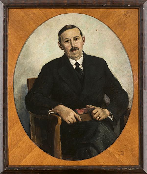 Edmund Gwerk – Portrét Ferdinanda Bálintha
