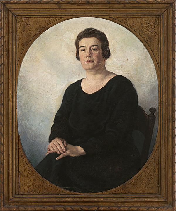 Edmund Gwerk – Portrét Márie Bálinthovej