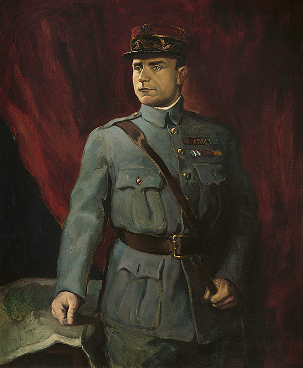 Edmund Gwerk – Portrét Milana Rastislava Štefánika