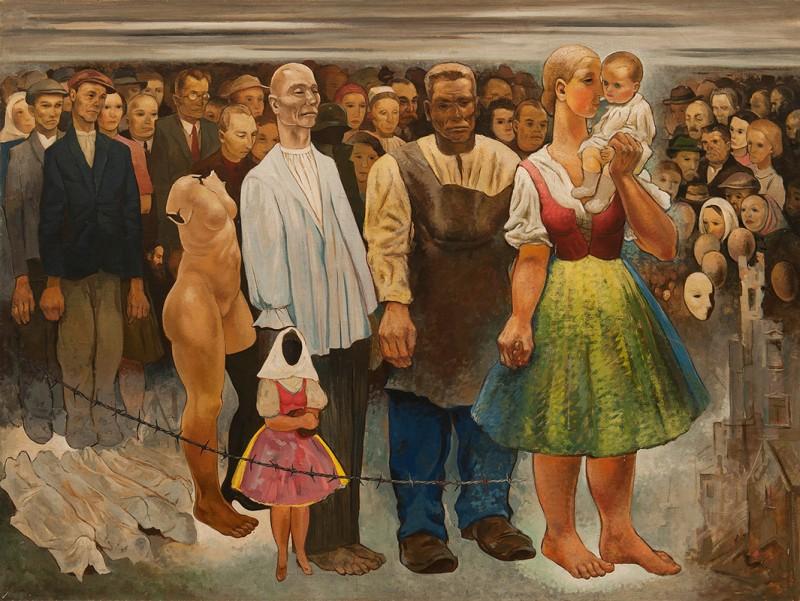 Imrich Weiner-Kráľ – Bude vojna, 1938, Galéria mesta Bratislavy