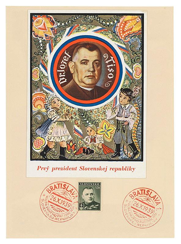 Vincek Hochštetský - Jozef Tiso, prvý prezident Slovenskej republiky