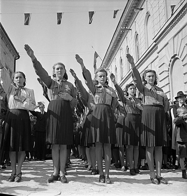 Neznámy autor - Deň Hlinkovej mládeže v Bánovciach nad Bebravou