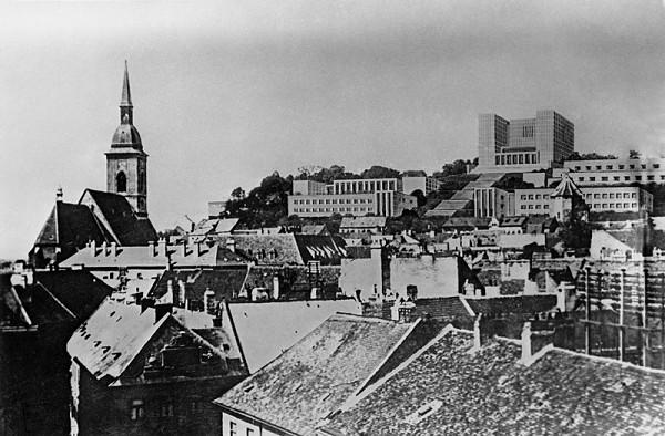 Ernesto La Padula, Attilio La Padula - Súťažný návrh na Univerzitné mesto v Bratislave 1940 -1941 - 2. cena ex aequo