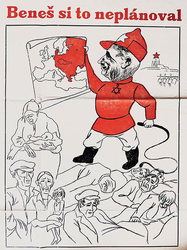 Neznámy autor - Karikatúry z nástenných Ľudových novín