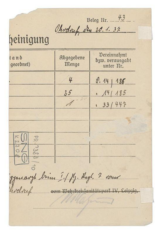 Jozef Fedora – Spomienky na domov - zadná strana (administratívny lístok)