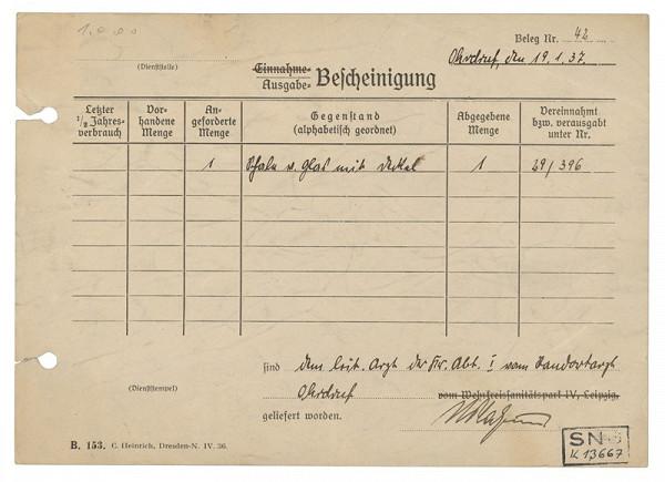 Jozef Fedora – Vysilený - zadná strana (administratívny lístok)