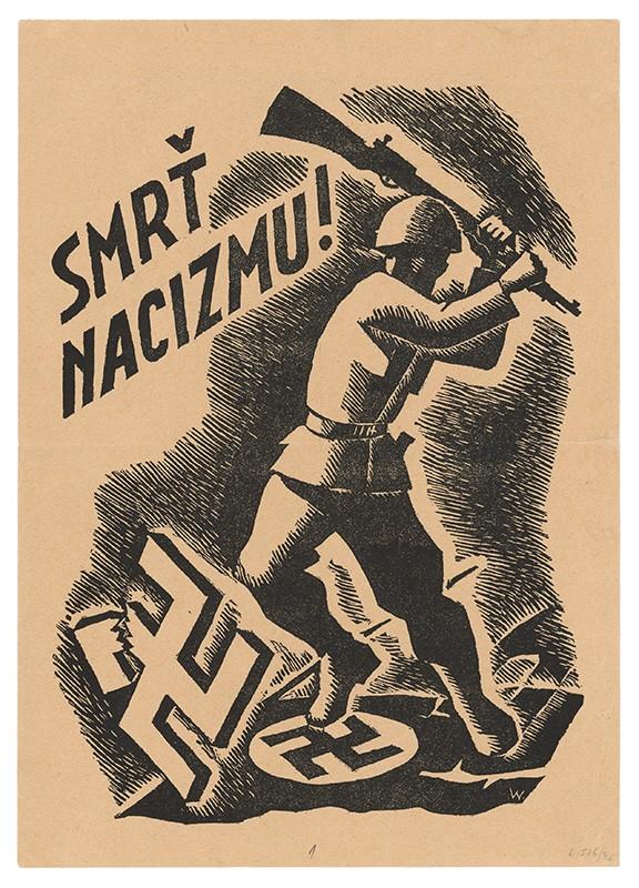 Štefan Bednár – Smrť nacizmu!, 1944, Slovenský národný archív