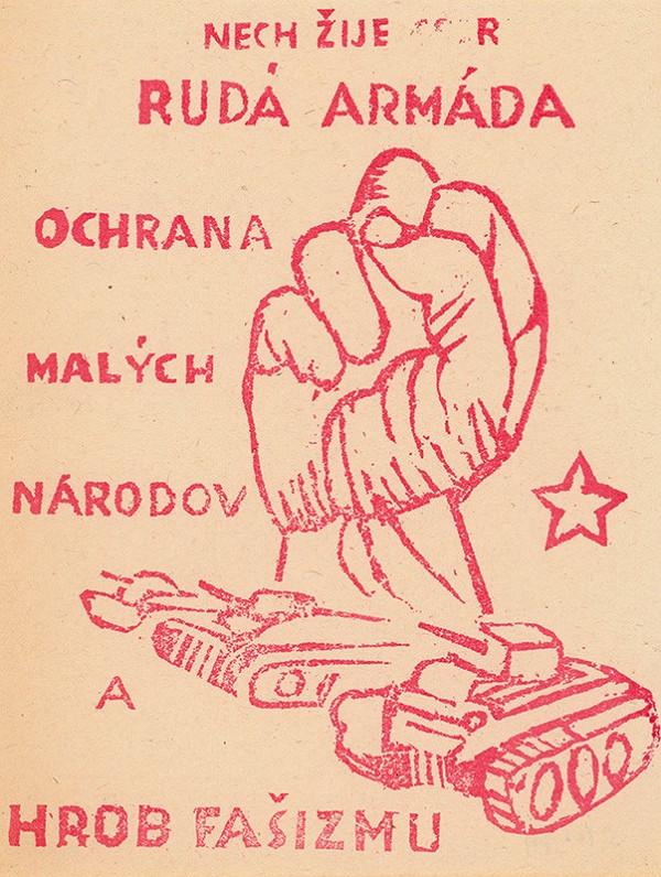 Neznámy autor – Nech žije Rudá armáda!