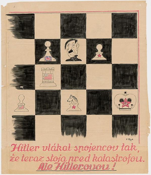 F. Bizub - Hitler vlákal spojencov tak, že teraz stoja pred katastrofou...