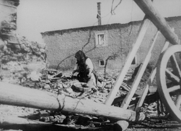 Neznámy autor – Zničený a vypálený Telgárt