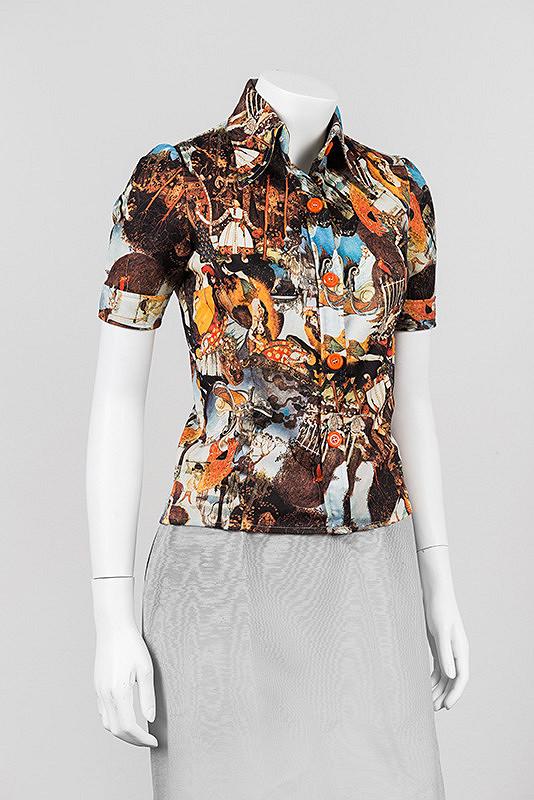 fbf2f0c06974 Dámska blúzka a skladaná sukňa Makyta