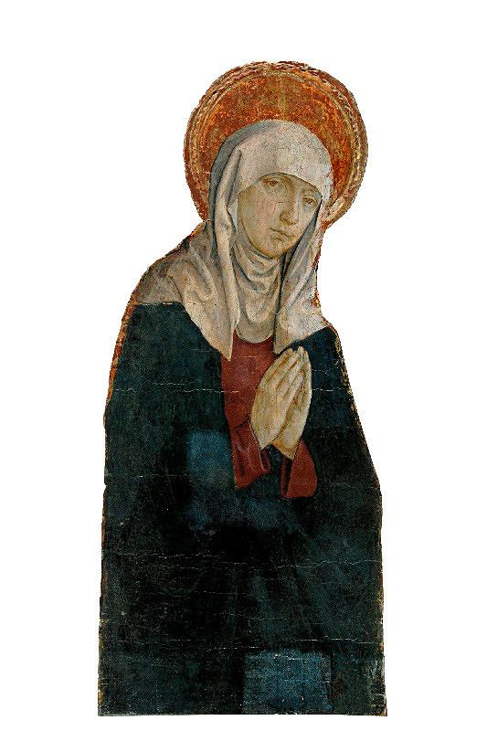 Majster z Okoličného - Bolestná panna Mária