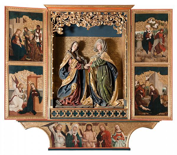 Majster z Okoličného, Košická dielňa – Oltár Navštívenia Panny Márie v Košiciach - sviatočná strana