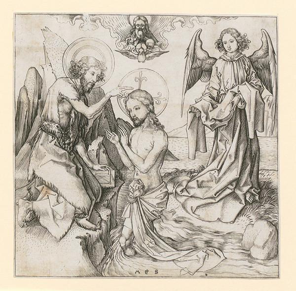 Martin Schongauer - Krst Krista