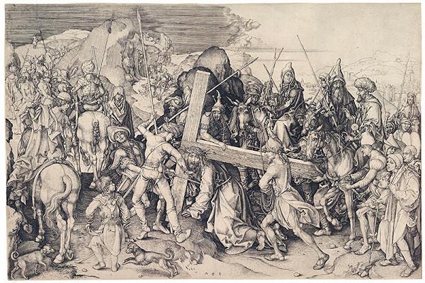 Martin Schongauer – Veľké nesenie kríža
