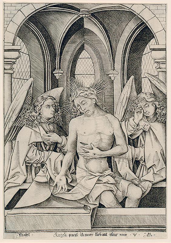 Israhel Van Meckenem - Muž bolesti