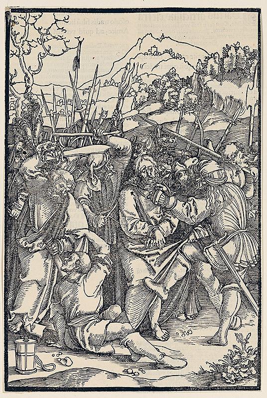 Hans Schäufelein (Schäufelin) st. – Zajatie z cyklu pašie (7 A 8/38)