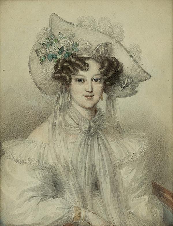 Johann Nepomuk Ender - Arcikňažná Henrietta