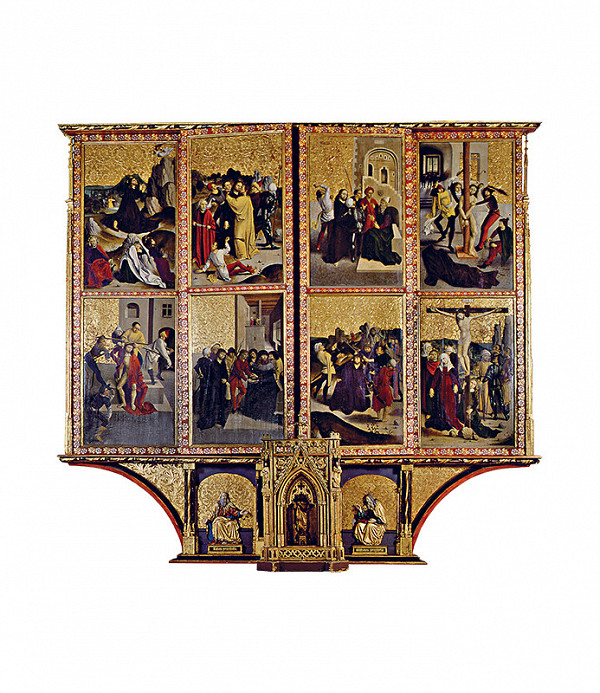 Dieľna oltára v Spišskej Kapitule – Oltár Korunovania Panny Márie v Spišskej kapitule - zatvorený