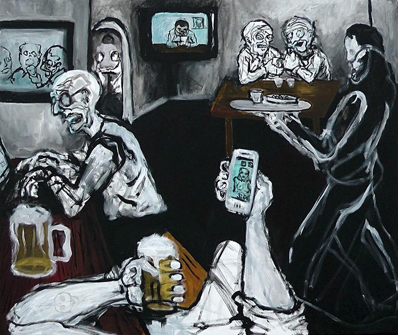 Richard Roháč – Digitálna kultúra, 2013, súkromný majetok