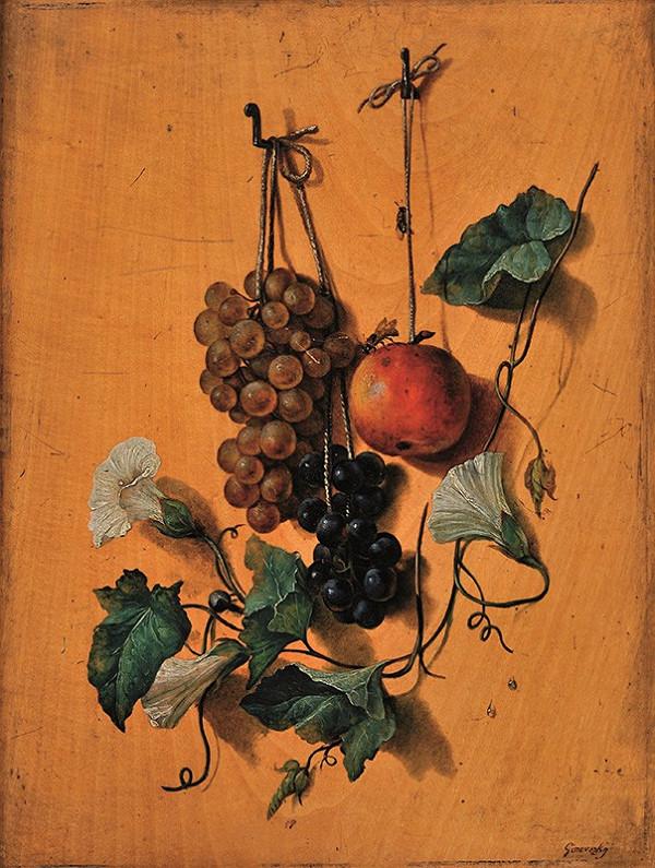 Jozef Ginovsky - Zátišie s ovocím