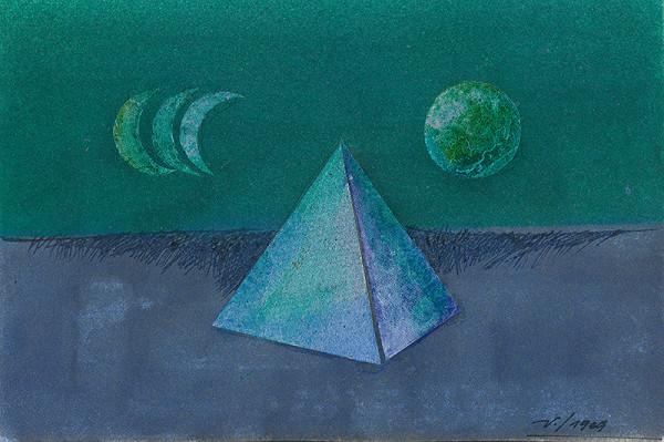 František Veselý - Veľká pyramída