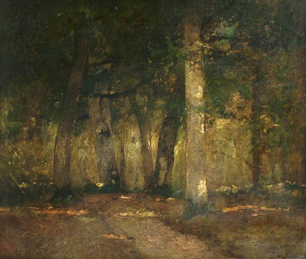 László Paál - Slnečné svetlo v lese