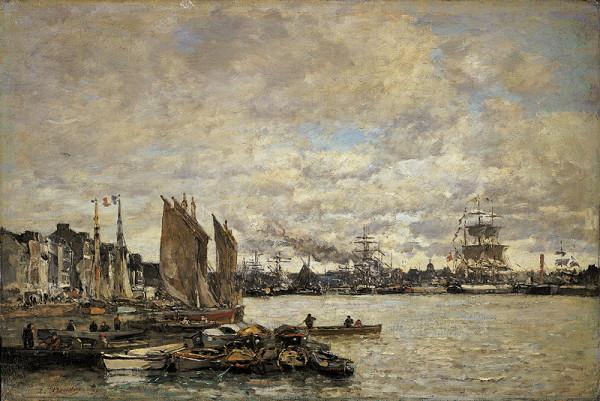 Eugène Boudin - Le Havre