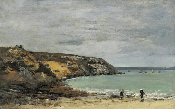Eugène Boudin – Brestská rejda