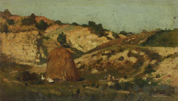 Antonín Chittussi - Normandská krajina