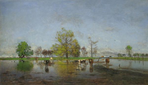 Eugen Jettel - Holandská krajina