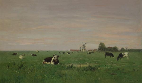 Eugen Jettel – Holandská krajina