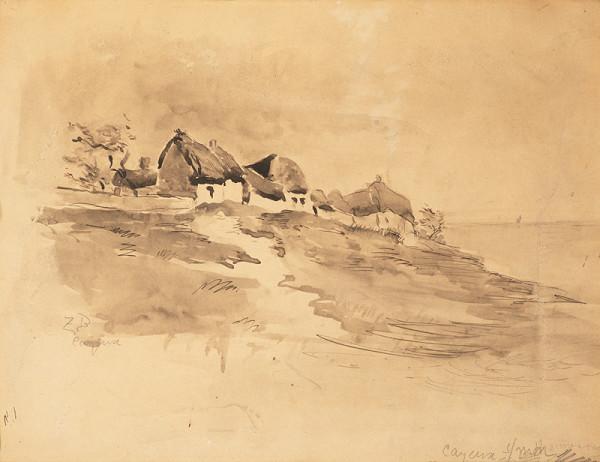 Soběslav Hyppolyt Pinkas - Náčrtník z Francie