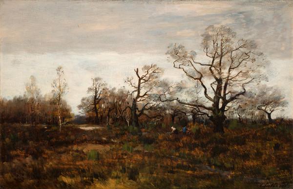 Antonín Chittussi - Podzim ve Fontainebleau