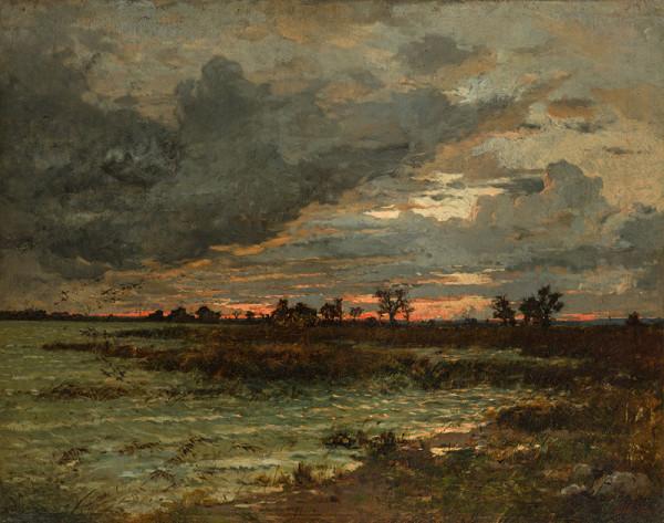Antonín Chittussi - Západ – Côte de la Gale