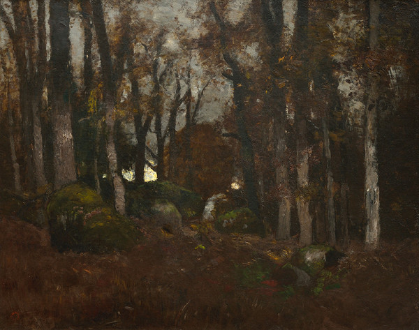 László Paál – Skaly v lese