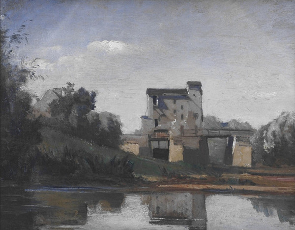 Antonín Chittussi – Francúzska krajina