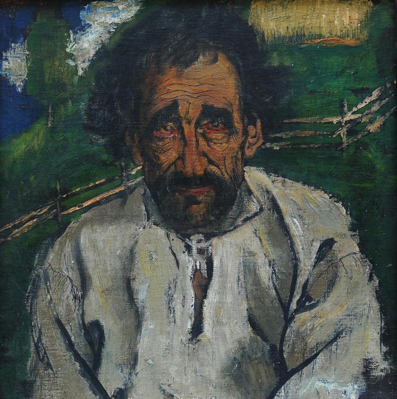 Fedor Manajlo – Starec, 1932, Zakarpatské oblastné múzeum Jozefa Bokšaja v Užhorode