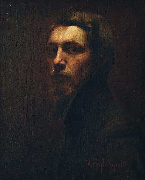 Július Virágh – Portrét muža