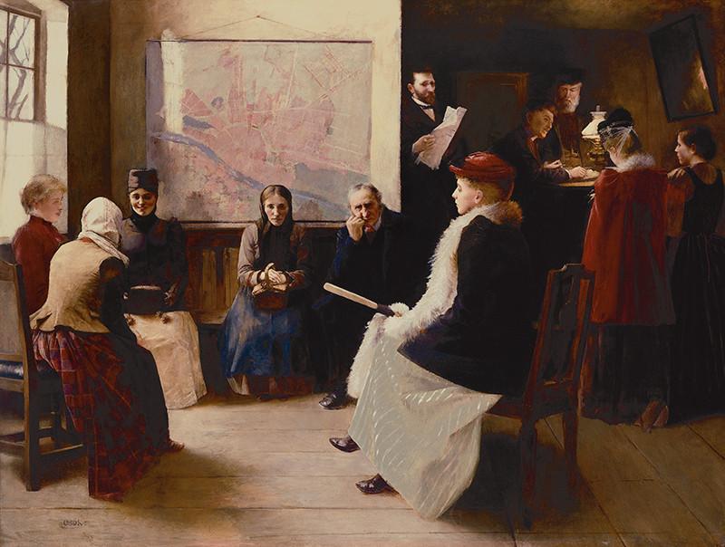 István Csók – Usprostredkovateľa služobníctva, 1892