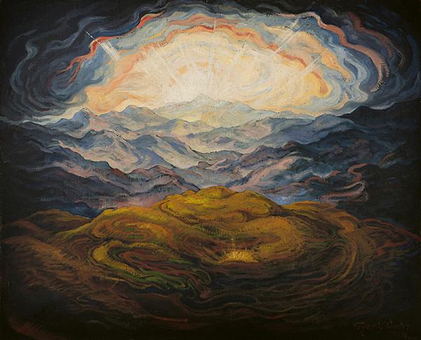 Edmund Gwerk – Zrod svetla / Hory a východ slnka