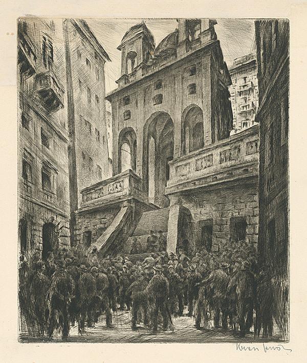 Eugen Krón – Námestie pred kostolom
