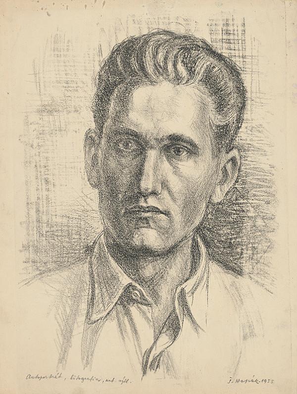 Štefan Hapák - Autoportrét