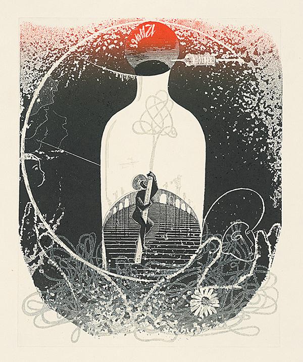 Alexander Bugan – Ilustrácia ku knihe Faust a margaréty I.