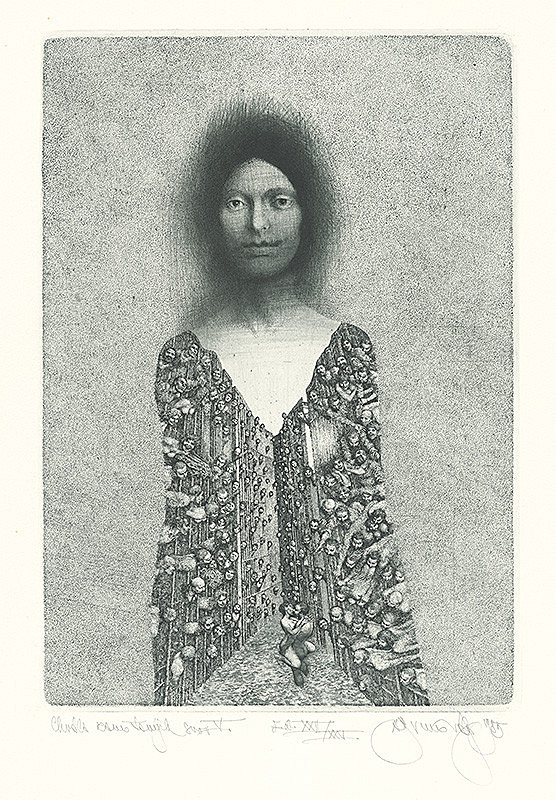 Albín Brunovský – Chvála zamotaných snov V., 1985, Východoslovenská galéria